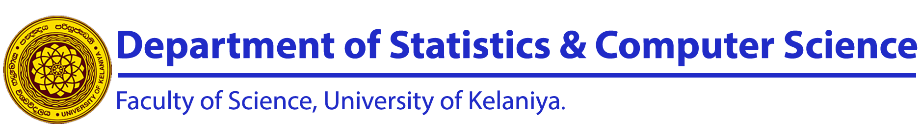 Department of Statistics & Computer Science - Home