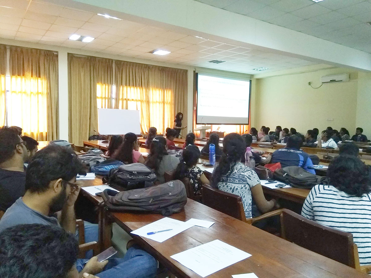 Scientific Research Workshops for 4th year students of the Faculty of Science in 2018