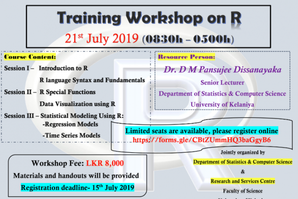 Annual R Software Workshop 2019:
